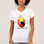¡el yinyangfire, fuego es CALIENTE! Camisetas