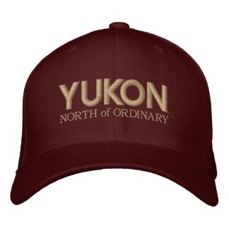 El Yukón, al norte de diseños ordinarios del borda Gorras De Béisbol Bordadas