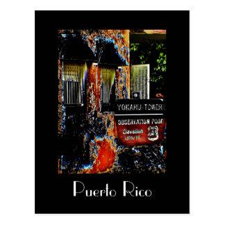 El Yunce, Puerto Rico AII Post Card