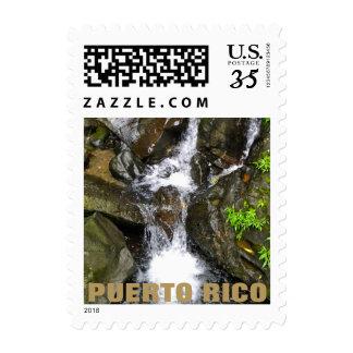 El Yunque Creek, Puerto Rico Postage