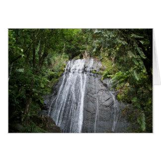El Yunque Rain Forest Travel Note Card