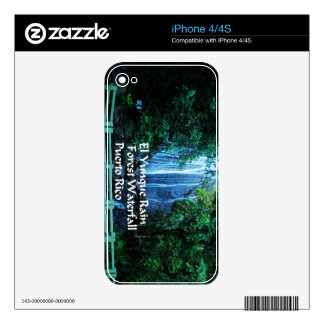 El Yunque Rainforest Skin For iPhone 4S