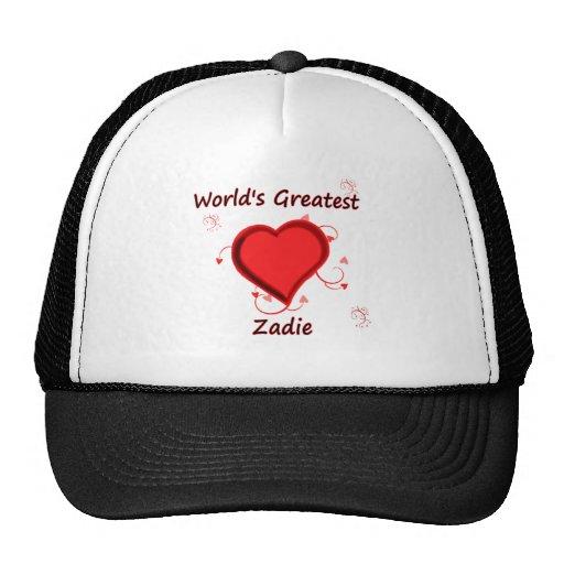 El zadie más grande del mundo gorra