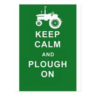 el zazzle guarda plough.jpg tranquilo postales