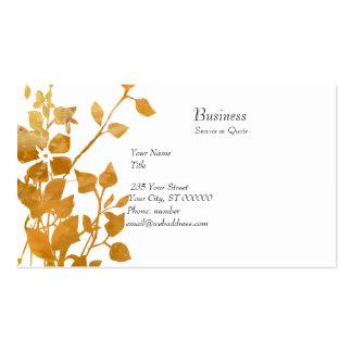 El zen florece el jardín del negocio tarjeta personal