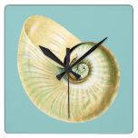 El zen inspiró tema de la playa reloj de pared