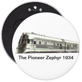 El Zephyr pionero 1934 Pin
