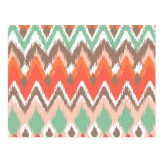El zigzag azteca tribal del galón raya el modelo d