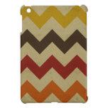 El zigzag retro del galón raya moda del modelo de  iPad mini coberturas