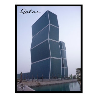 el zigzag se eleva Doha Tarjeta Postal