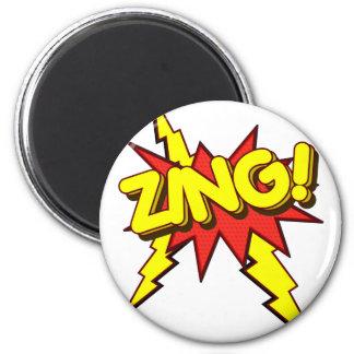 ¡El Zing, Zap, prisionero de guerra!!! Imán De Frigorífico