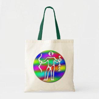 El zodiaco de Archer del arco iris del sagitario Bolsa Tela Barata