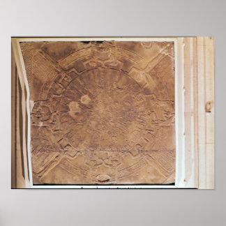 El zodiaco de Dendarah Póster