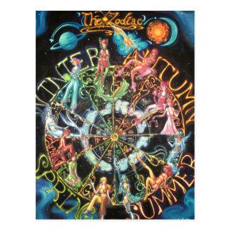 El zodiaco postales