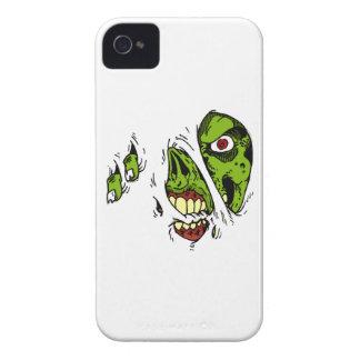 El zombi comió mi iPhone iPhone 4 Case-Mate Protectores