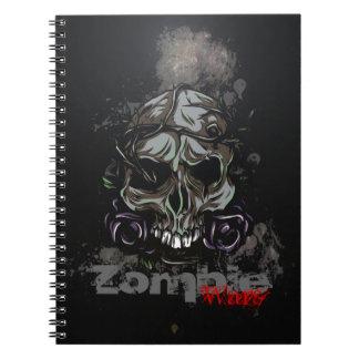 El zombi guerrea cuaderno