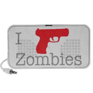 El zombi habla notebook altavoz