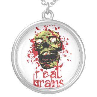 El zombi I come los cerebros 2 Colgante Redondo