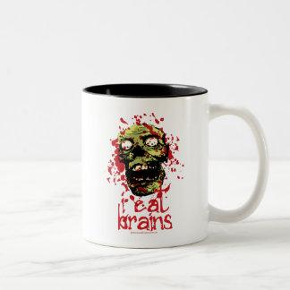El zombi I come los cerebros 2 Taza