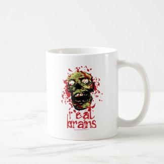 El zombi I come los cerebros 2 Tazas