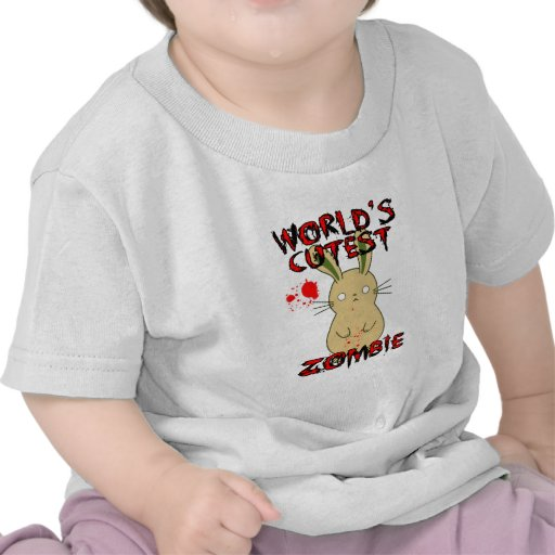 El zombi más lindo del mundo camiseta