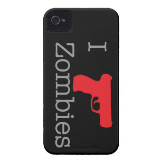 El zombi negro adelgaza Case-Mate iPhone 4 cárcasa
