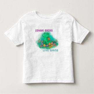 El zombi pega la primavera del amor playera