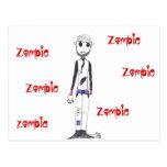 El zombi postales