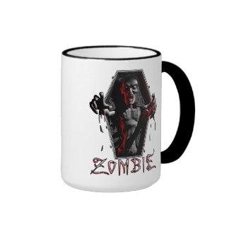 El zombi sube las tazas