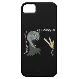 ¡El zombi vegetariano quiere Graaaains! iPhone 5 Carcasa