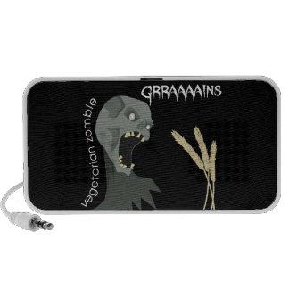 ¡El zombi vegetariano quiere Graaaains! iPhone Altavoces