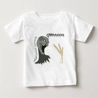 ¡El zombi vegetariano quiere Graaaains! T-shirt