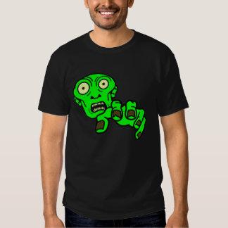 El zombi verde camisas