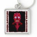 El Zombie Diablo                                        Stickers & Magnets keychain