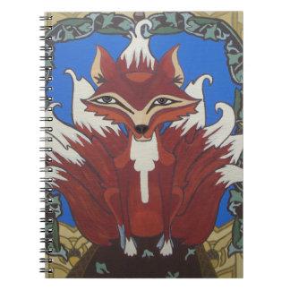 El zorro con nueve colas cuaderno