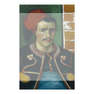 El Zouave de Vincent van Gogh Flyer A Todo Color