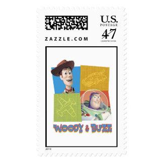 El zumbido Lightlear de Toy Story y logotipo de Sello