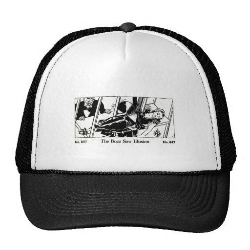 El zumbido retro del truco mágico del kitsch del v gorras