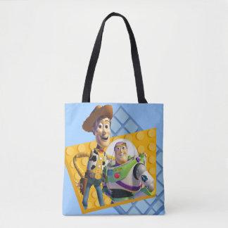 El zumbido y Woody de Toy Story Bolsa De Tela