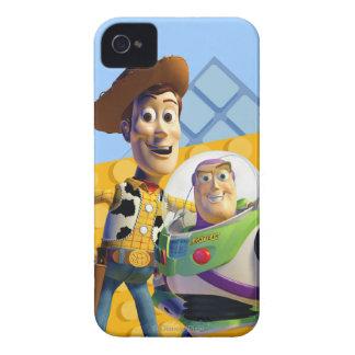 El zumbido y Woody de Toy Story Carcasa Para iPhone 4