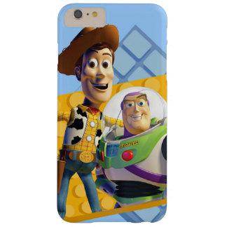 El zumbido y Woody de Toy Story Funda De iPhone 6 Plus Barely There