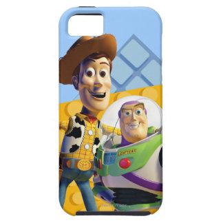 El zumbido y Woody de Toy Story Funda Para iPhone SE/5/5s