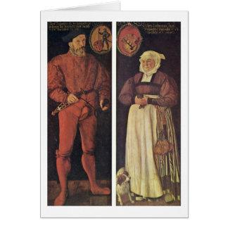 El Zurich-Portador y su esposa por el sintonizador Tarjeta De Felicitación
