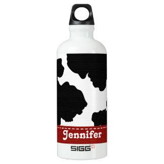 El zurriago blanco y negro rojo BPA libera