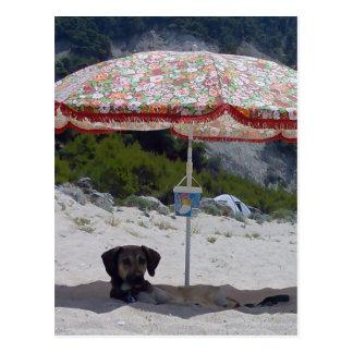 ela on the beach postcard