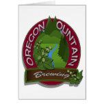 Elaboración de la cerveza de la montaña de Oregon Tarjetas