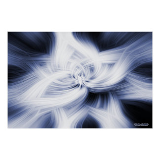 Elaborate Abstract Art Works Poster