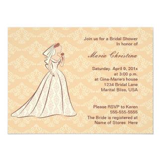 Elaborate Elegance Bridal Shower Invitation