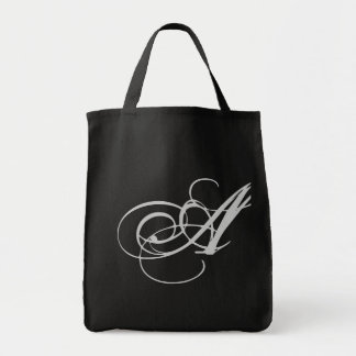 Elaborate Monogram A Purse Tote Bag