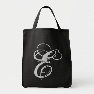 Elaborate Monogram E Purse Tote Bag